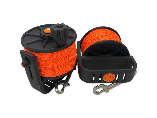 Cave Reel - 250m - Orange