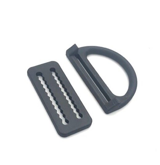 Low Profile open D-Ring